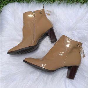 Marc Joseph tan leather boots  Murray Hill sz 7.5